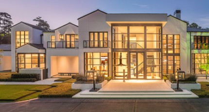 Luxury Front Yard Landscape